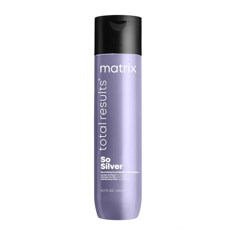 MATRIX - Shampoo Violeta Corrector Tonor Amarillos So Silver 300 ml