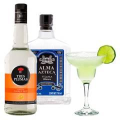 ALMA AZTECA - Pack Arma Tu Cocktail Margartia Tequila Y Triple