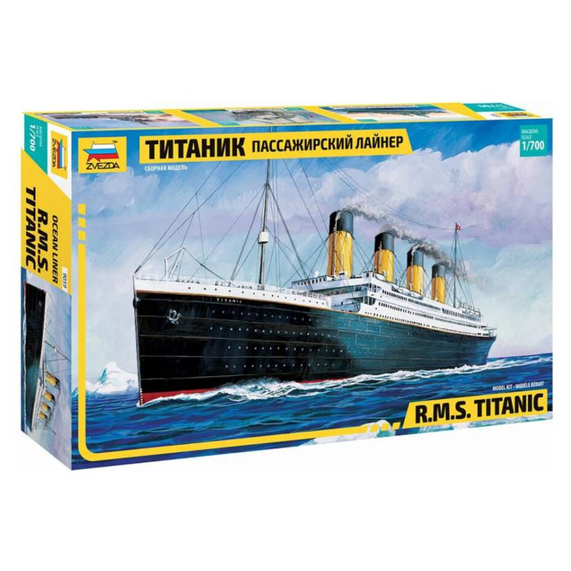 ZVEZDA - Maqueta Titanic