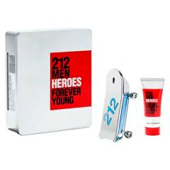 CAROLINA HERRERA - Perfume Hombre 212 Heroes Men Edt 90 ml + Body Wash 100 ml