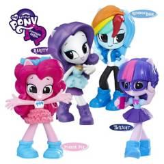 MY LITTLE PONY - My Little Pony Equestria 4 Muñecas Minis E0796