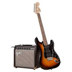 SQ FENDER - Pack Guitarra Fender Squier Stratocaster Affi SB