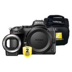 NIKON - Cámara Nikon Z5 Body  Adaptador FTZ  Bolso