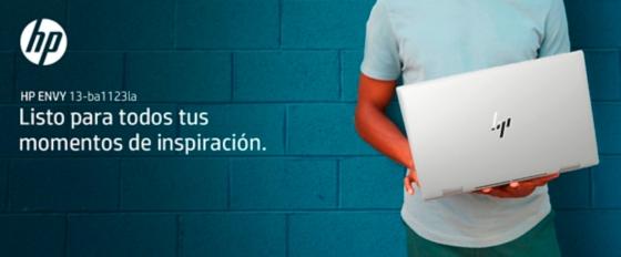 Notebook HP ENVY 13-ba1123la empodera tus creaciones