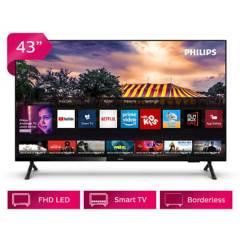 """PHILIPS - LED 43"""" 43PFD6825 Full HD Smart TV"""