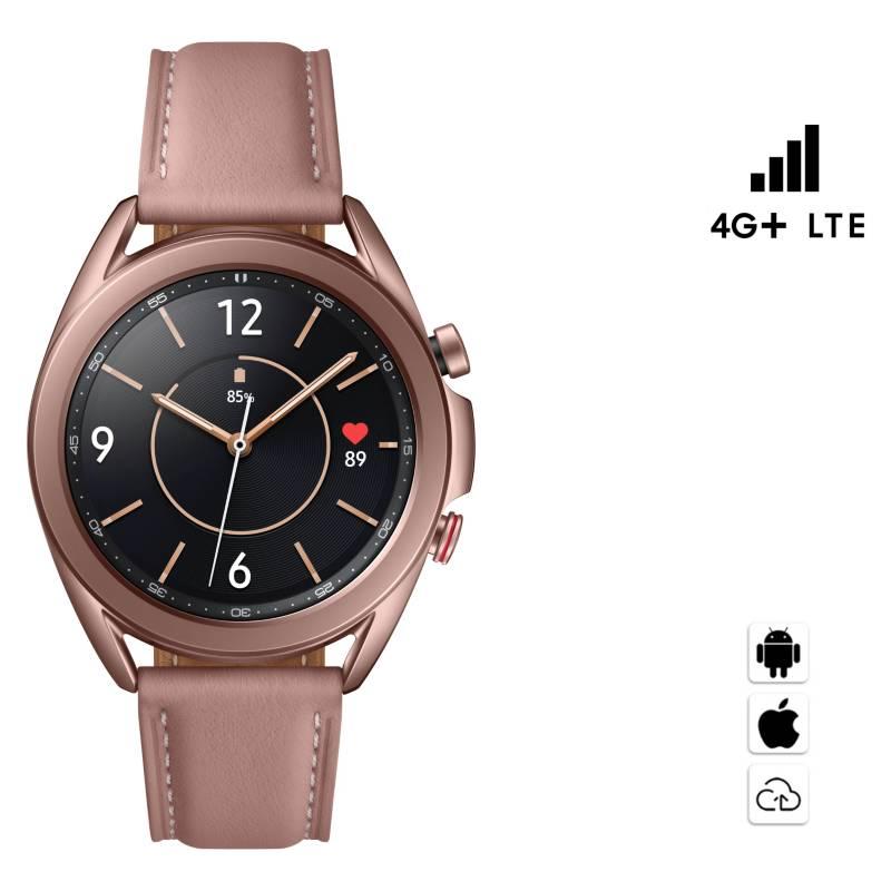 SAMSUNG - Galaxy Watch3 4G+LTE 41mm