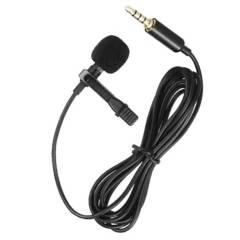 OEM - Micrófono Condensador Lavalier Solapa Para Celular