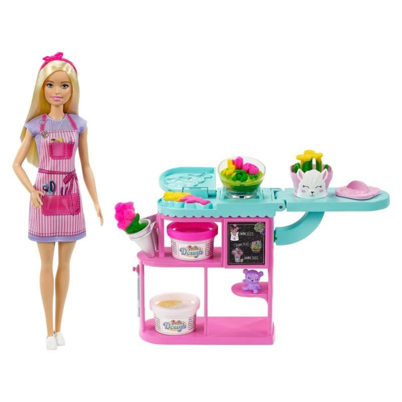 BARBIE - Juguete Barbie Set De Tienda De Flores