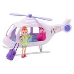 POLLY POCKET - Muñeca Polly Pocket Helicóptero De Vacaciones