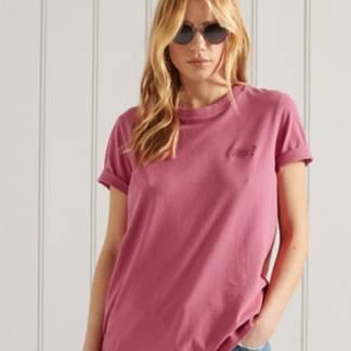 SUPERDRY - Camiseta Clásica de Algodón Orgánico Mujer