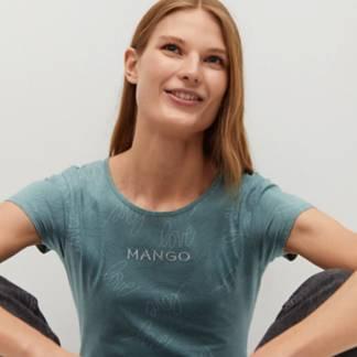 MANGO - Polera Algodón Orgánico