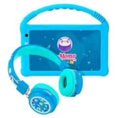 Momo - SoyMomo Tablet Lite 2.0 con Audífonos BT 5 Azul