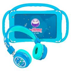 MOMO - SoyMomo Lite con Audífonos Bluetooth Azul