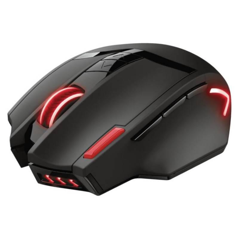 TRUST - Mouse Gamer Ranoo Trust Gxt 130 Inalambrico 9 Boto