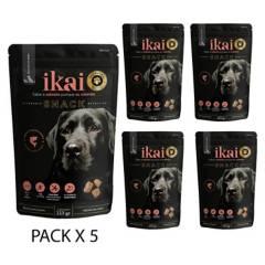 IKAI - IKAI Snack Premium de Salmon para Perros (5 packs)