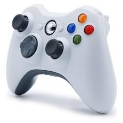 DBLUE - Control Xbox 360 Con Cable White