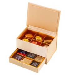 LEONIDAS - Joyero 12 bombones Chocolate Belga