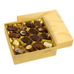 LEONIDAS - Caja 32 bombones Chocolate Belga