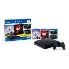 Sony - PlayStation 4 Mega Pack 16 (Tom Clancy´s Rainbow Six Siege, Horizon Zero Dawn Edición Completa, Gran Turismo Sport)