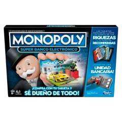 MONOPOLY - Monopoly Juego De Mesa Súper Banco Electrónico