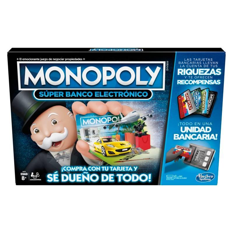 MONOPOLY - Juegos De Mesa Hasbro Gaming Monopoly Súper Banco Electrónico