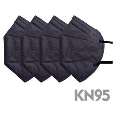 BUBBA BAGS - Mascarilla bubba 4 pcs kn95 black