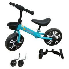 undefined - Bicicleta 3 En 1 Aro 10 Niños 2 - 4 A