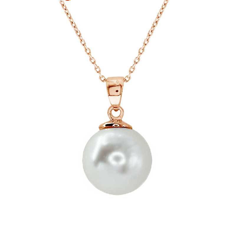 SARA K JOYAS - Collar Classic Pearl Swarovski