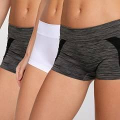 INTIME - Pack 3 calzones pantaleta mujer