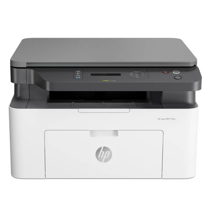 HP - Impresora HP Laser MFP 135w