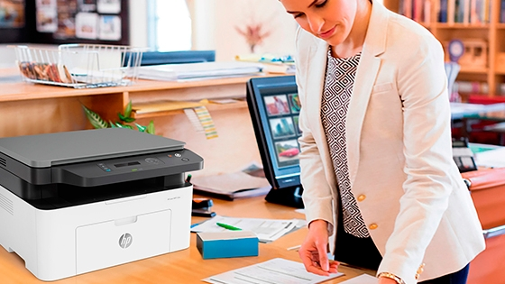 Impresora HP Laser MFP 135w Calidad