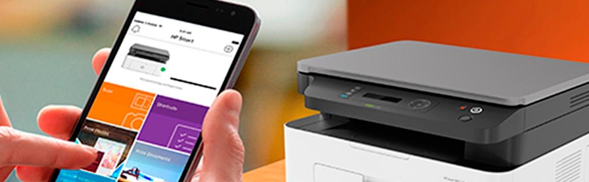 Impresora HP Laser MFP 135w Tecnología