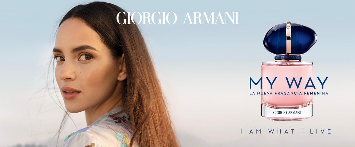 Visual oficial perfume My way Giorgio Armani Mujer