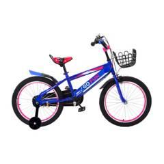 GO FUN - Bicicleta Infantil Anza Aro 16 Azul