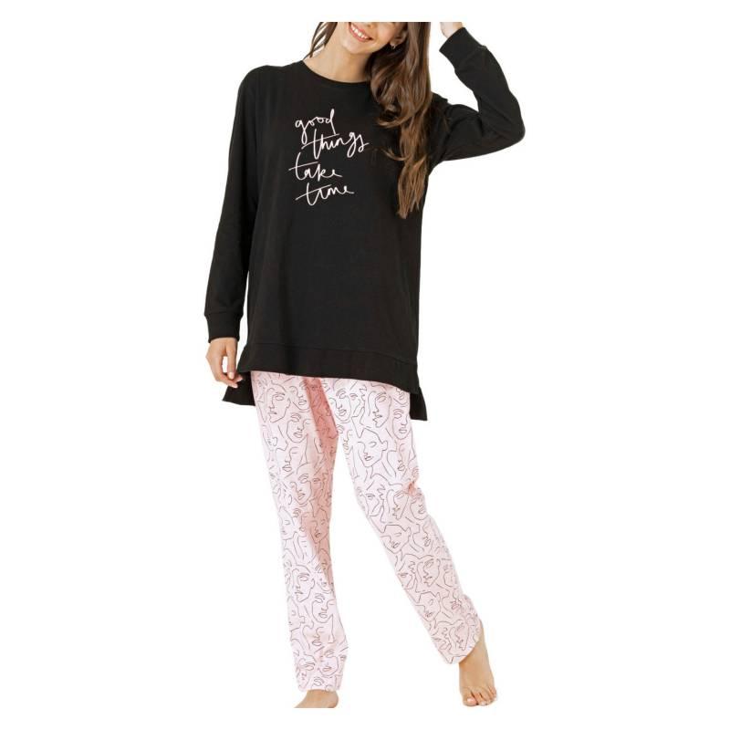 TOP - Pijama mujer manga larga