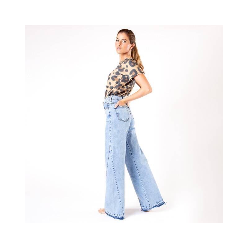 MONA - Jeans De Algodón Mujer