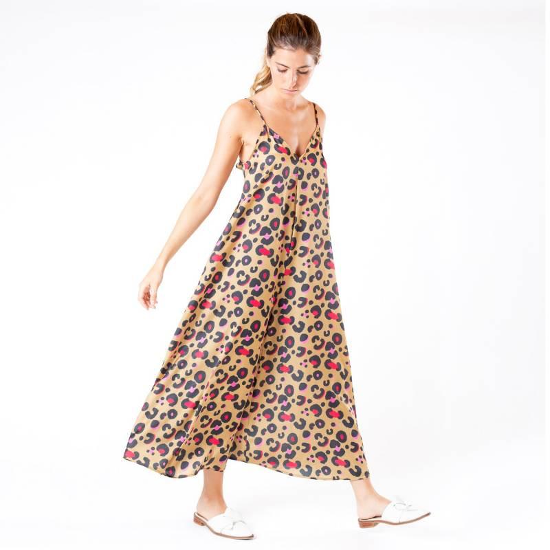 MONA - Vestido Amy Color