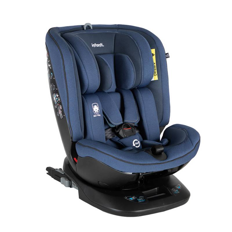 INFANTI - Silla Convertible All In One Blue