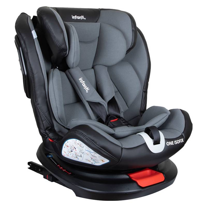 INFANTI - Silla De Auto Convertible One Isofix Grey