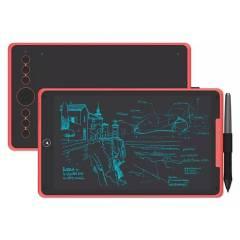 HUION - Tableta Grafica HUION H320M ROJA - HUION CHILE