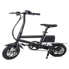 VOLTTA - Bicicleta Eléctrica Genova Negra