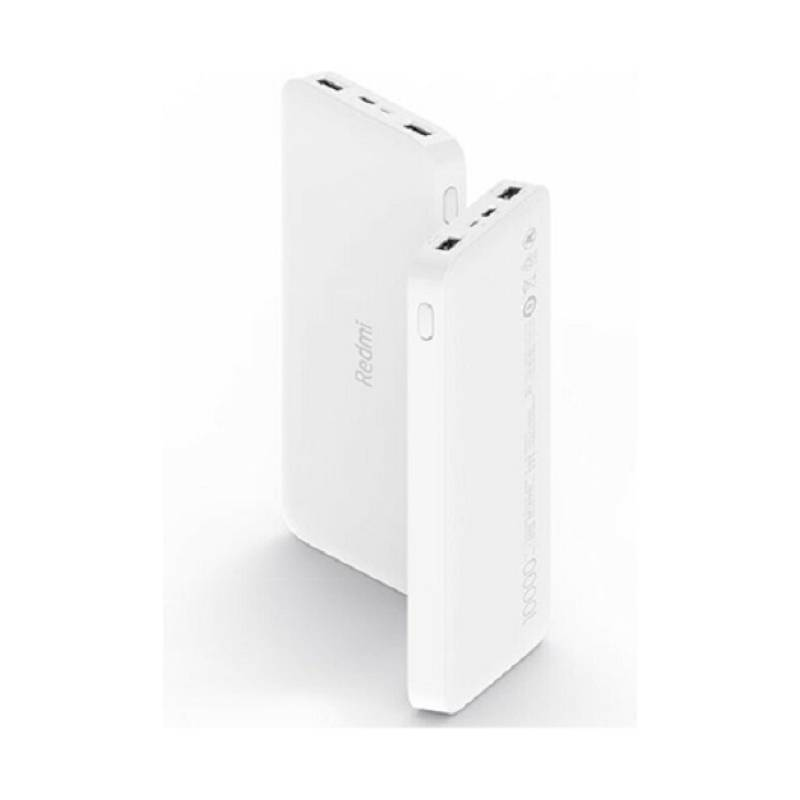 XIAOMI - Power Bank White 10000mAh Redmi