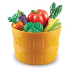 LEARNING RESOURCES - Set de Verduras de Representación 9 Piezas