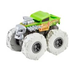 HOT WHEELS - Hot Wheels Monster Trucks 1:43 Llantas Todo Terreno Bone Shaker