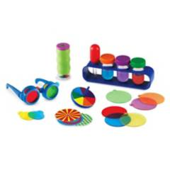 LEARNING RESOURCES - Kit Experimentos Luz Y Agua
