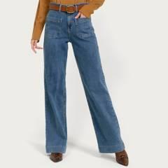 BASEMENT - Jeans leggins tiro alto mujer