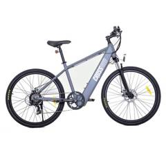 ASIAMERICA - Bicicleta Eléctrica Aro 27.5 Luces Led Gris