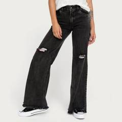 DINAMICA - Jeans Wide Leg Mujer