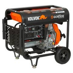 Kolvok - Generador Eléctrico Diesel P/Eléctrica 6.500W