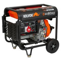 Kolvok - Generador Eléctrico Trif. Diesel  P/Eléctrica 6.50